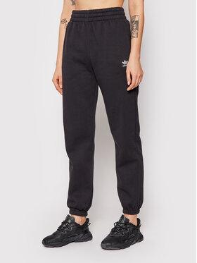 adidas adidas Spodnie dresowe adicolor Essentials H06629 Czarny Regular Fit