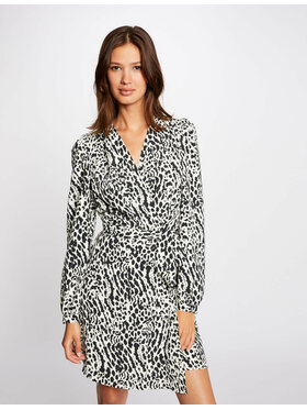 Morgan Morgan Ежедневна рокля 212-RICKY.F Черен Regular Fit