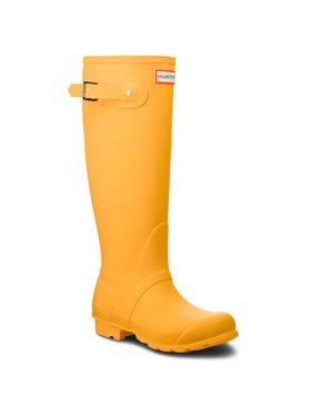 Hunter Hunter Γαλότσες Org Tall WFT1000RMA Κίτρινο