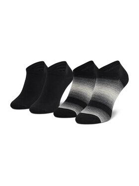 Tommy Hilfiger Tommy Hilfiger Комплект 2 чифта къси чорапи мъжки 701210555 Черен