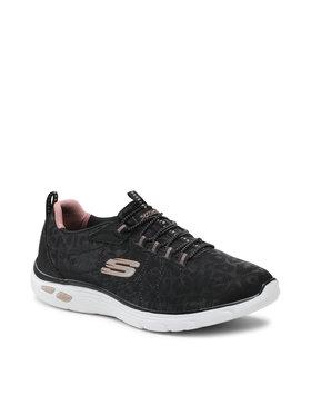 Skechers Skechers Sportcipő Spotted 12825/BKRG Fekete