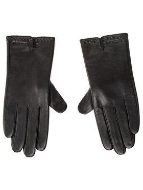 Wittchen Wittchen Dámske rukavice 39-6L-213-1 Čierna