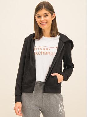 Armani Exchange Armani Exchange Bluza 8NYM75 Y9L7Z 1200 Czarny Regular Fit