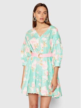 Imperial Imperial Sukienka letnia ABWSBSI Zielony Regular Fit