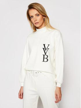 Victoria Victoria Beckham Victoria Victoria Beckham Majica dugih rukava Ponti 2121JSS002388A Bijela Regular Fit