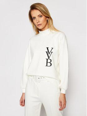 Victoria Victoria Beckham Victoria Victoria Beckham Sweatshirt Ponti 2121JSS002388A Weiß Regular Fit