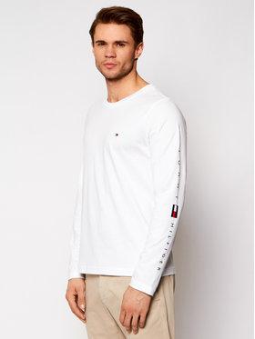 Tommy Hilfiger Tommy Hilfiger Тениска с дълъг ръкав Essential Ls MW0MW17677 Бял Regular Fit