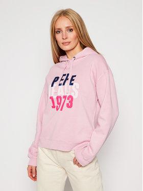 Pepe Jeans Pepe Jeans Felpa Babe PL580971 Rosa Regular Fit