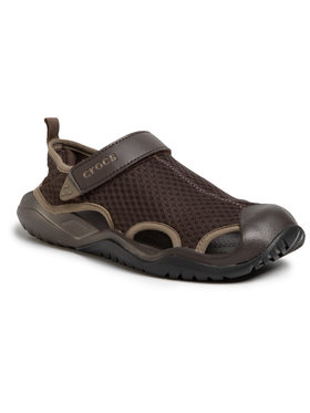 Crocs Crocs Sandales Swiftwater Mesh Deck Sandal M 205289 Marron