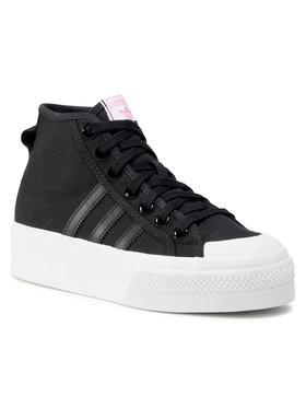 adidas adidas Cipő Nizza Platfrom Mid W FY7579 Fekete