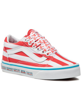 Vans Vans Πάνινα παπούτσια Old Skool VN0A4BUU3UV1 Κόκκινο