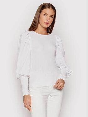 Vero Moda Vero Moda Bluzka Sie 10238484 Biały Slim Fit