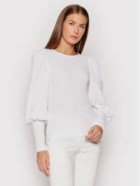 Vero Moda Vero Moda Majica Sie 10238484 Bijela Slim Fit