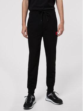Hugo Hugo Teplákové kalhoty Doak212 50447963 Černá Regular Fit
