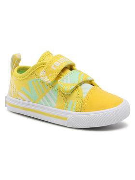 Reima Reima Sneakers aus Stoff Metka 569347 Gelb