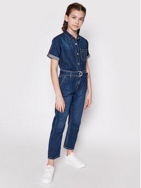 Calvin Klein Jeans Calvin Klein Jeans Kombinezon IG0IG00845 Granatowy Regular Fit