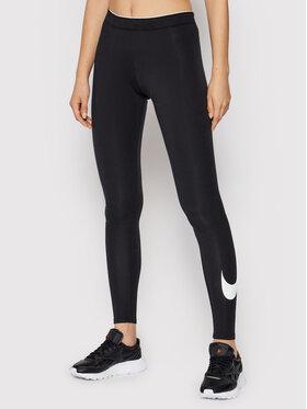 Nike Nike Leggings Club Logo 815997 Crna Slim Fit