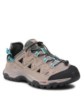 Salomon Salomon Трекінгові черевики Alhama W 410361 21 V0 Бежевий