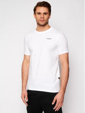 G-Star Raw G-Star Raw T-Shirt Base D19070-C723-110 Bílá Slim Fit