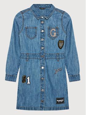 Guess Guess Sukienka codzienna J1YK15 D4E90 Niebieski Regular Fit