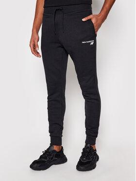 New Balance New Balance Spodnie dresowe C C F Pant MP0390 Czarny Athletic Fit