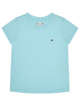 TOMMY HILFIGER TOMMY HILFIGER T-Shirt Essential Knit Tee KG0KG05294 M Modrá Regular Fit