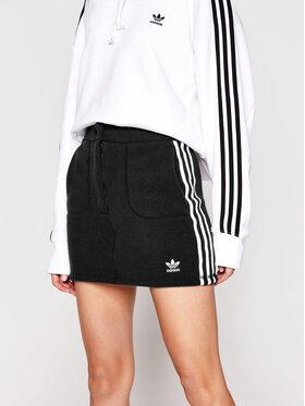 adidas adidas Mini sukně adicolor Classics GN2800 Černá Slim Fit