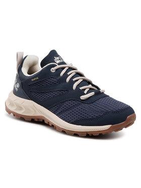 Jack Wolfskin Jack Wolfskin Παπούτσια πεζοπορίας Woodland Texapore Low W 4039241 Σκούρο μπλε
