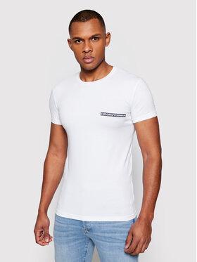 Emporio Armani Underwear Emporio Armani Underwear Póló 111035 1P729 00010 Fehér Slim Fit
