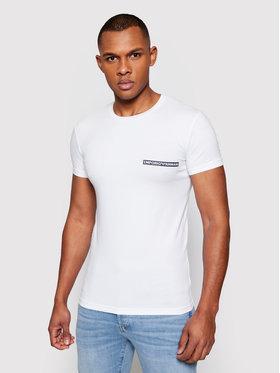 Emporio Armani Underwear Emporio Armani Underwear T-Shirt 111035 1P729 00010 Biały Slim Fit