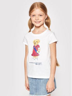 Polo Ralph Lauren Polo Ralph Lauren T-shirt Bear 312838265001 Bijela Regular Fit