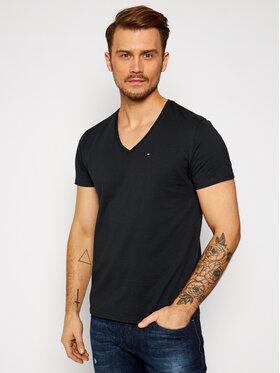 Tommy Jeans Tommy Jeans T-Shirt DM0DM04410 Schwarz Regular Fit