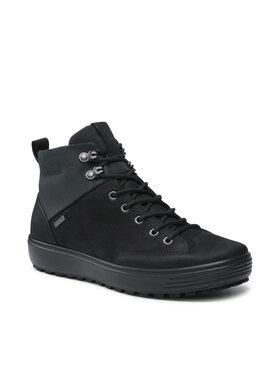 ECCO ECCO Kotníková obuv Soft 7 Tred M GORE-TEX 45011451707 Černá
