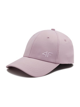 4F 4F Kepurė su snapeliu H4L21-CAD002 Rožinė