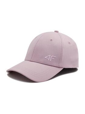 4F 4F Kšiltovka H4L21-CAD002 Růžová
