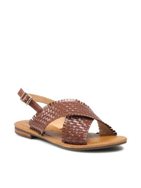 Geox Geox Sandale D Sozy S A D15LXA 0001J C0013 Smeđa