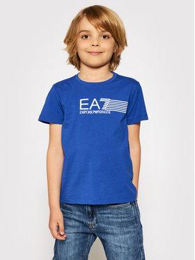 EA7 Emporio Armani EA7 Emporio Armani Marškinėliai 3KBT54 BJ02Z 1570 Mėlyna Regular Fit