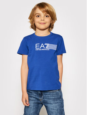 EA7 Emporio Armani EA7 Emporio Armani T-shirt 3KBT54 BJ02Z 1570 Plava Regular Fit