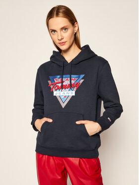 Tommy Jeans Tommy Jeans Sweatshirt Modern Logo DW0DW08984 Dunkelblau Regular Fit
