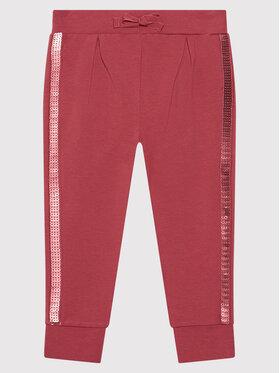 Coccodrillo Coccodrillo Spodnie dresowe ZC1120101BEU Różowy Regular Fit