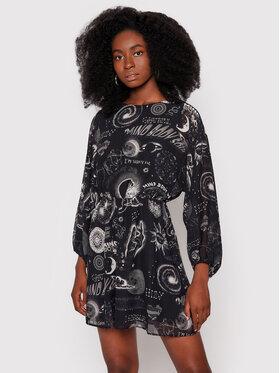 Desigual Desigual Každodenní šaty California 21WWVW62 Černá Regular Fit
