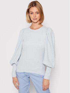 Vero Moda Vero Moda Bluzka Sie 10238484 Niebieski Slim Fit