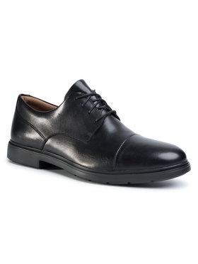 Clarks Clarks Pantofi Un Tailor Cap 261446767 Negru