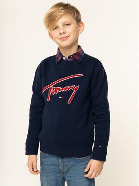Tommy Hilfiger Tommy Hilfiger Sweter KB0KB05076 D Granatowy Regular Fit