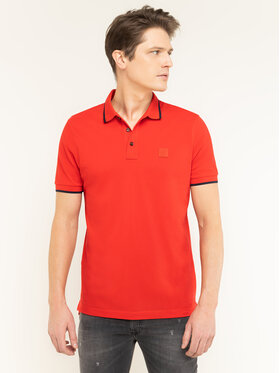 Boss Boss Polo Parlay 73 50424202 Czerwony Regular Fit