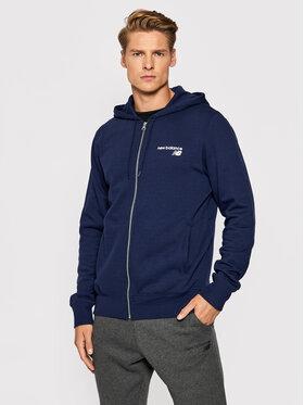New Balance New Balance Džemperis MJ03907 Tamsiai mėlyna Athletic Fit