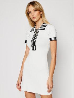Morgan Morgan Плетена рокля 211-RMKIWI Бял Regular Fit