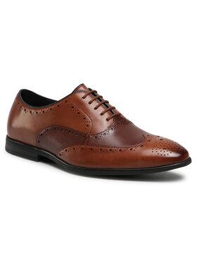 Clarks Clarks Κλειστά παπούτσια Bampton Rhodes 261547877 Καφέ