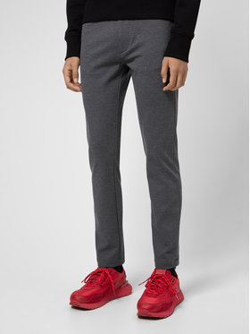Hugo Hugo Pantalon en tissu Iggy204 50437956 Gris Extra Slim Fit