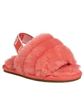 Ugg Ugg Papuče T Fluff Yeah Slide 1098579T Oranžová